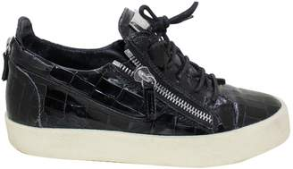 Giuseppe Zanotti Black Patent leather Trainers