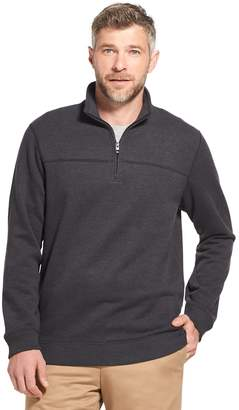 Arrow Men's Saranac Classic-Fit Fleece Quarter-Zip Pullover Sweater