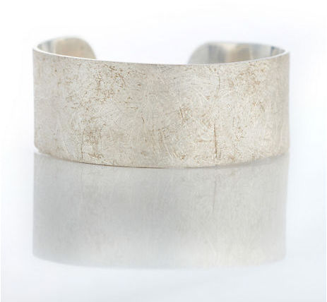 Gump's Brushed Sterling Silver Cuff