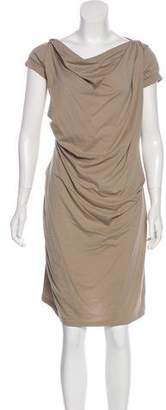 Brunello Cucinelli Mini Short Sleeve Dress