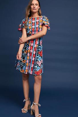 Eva Franco Ferrah Embroidered Dress $198 thestylecure.com