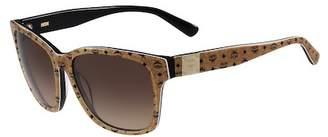 MCM Visetos 59mm Retro Sunglasses $276 thestylecure.com