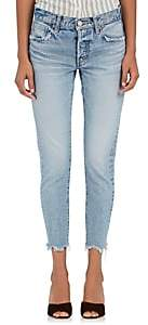 Moussy Women's Loa Tapered Jeans-Lt. Blue
