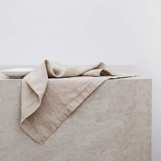 Lulu & Georgia Cultiver Linen Table Napkins Set of 4, Natural