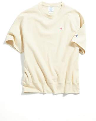Champion Reverse Weave Short Sleeve Crew Neck Sweatshirt