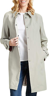 Four Seasons Unlined Raincoat, Linen/Blush