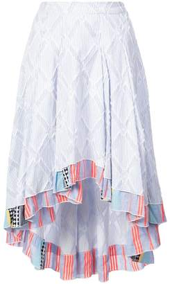 Lemlem Besu pleated skirt
