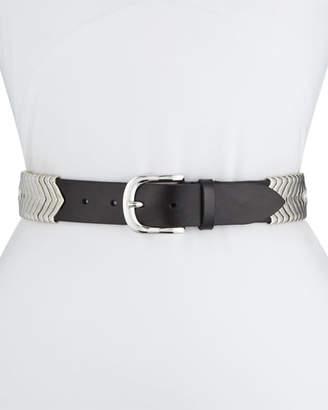 Etoile Isabel Marant Tehora U-Buckle Leather Belt