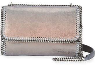 Stella McCartney Falabella Metallic Flap-Top Shoulder Bag