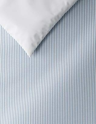 Marks and Spencer Micro Striped Seersucker Bedding Set