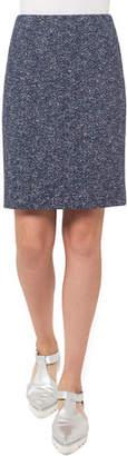 Akris Punto Stretch-Jacquard Mini Skirt