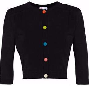 RED Valentino Wool Silk And Cashmere-Blend Cardigan