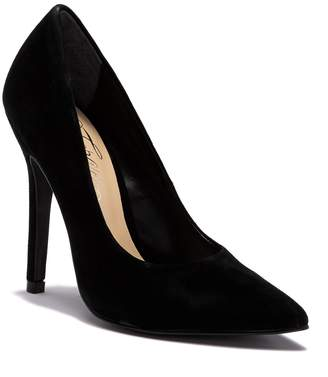 Fergie Alexi Suede Pointed Toe Pump