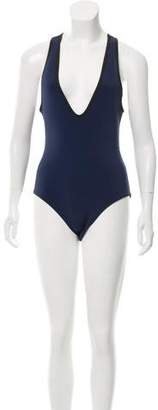 Dion Lee Ink Filter One-Piece Swimsuit