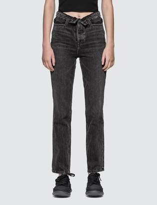 Alexander Wang Alexander Wang.T Cult Flip Jeans