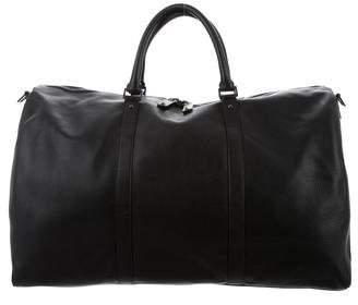 Valentino Leather Weekender Bag
