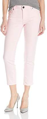 KUT from the Kloth Women's Reese Ankle Straight Leg Jean