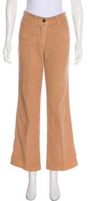 Chloé Mid-Rise Corduroy Pants