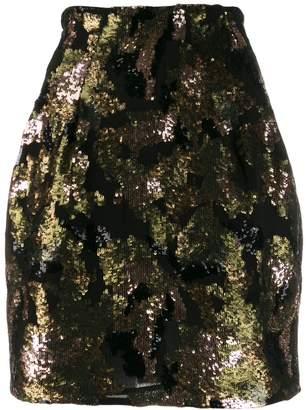 IRO Liv sequinned mini skirt