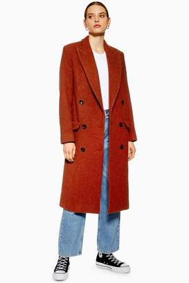 Topshop Double Breasted Coat by Boutique