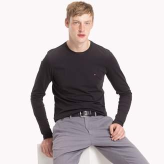 Tommy Hilfiger Stretch Cotton Long-Sleeve T-Shirt