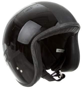 Ralph Lauren Purple Label Leather-Lined Motorcycle Helmet