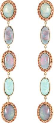 Black Opal KATHERINE JETTER Classic Five Drop Earrings