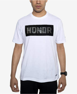 Sean John Men's Sequined Reversible-Graphic T-Shirt