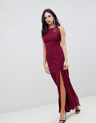 AX Paris Slinky Maxi Dress With Side Slit