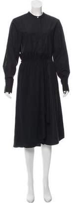 Jason Wu Grey by Button-Up Midi Dress