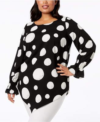 ccfecfb119a3b Alfani Black Plus Size Tops on Sale - ShopStyle