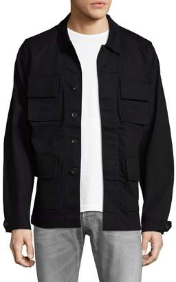 BLK DNM Men's 76 Spread Collar Jacket
