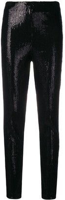 Plein Sud Jeans sequin skinny trousers