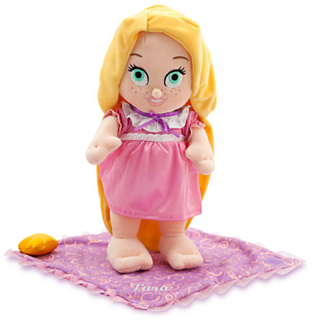 Disney Disney's Babies Rapunzel Plush Doll and Blanket - Personalized