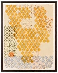 Honeycomb Block Print