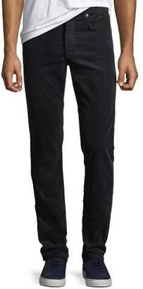 Rag & Bone Men's Fit 2 Mid-Rise Relaxed Slim-Fit Corduroy Pants, Navy