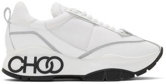 Jimmy Choo White Raine Sneakers