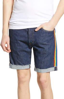 Levi's 501® Pride Cutoff Denim Shorts