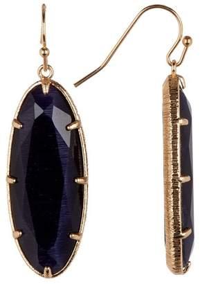 14th & Union Oval Single Drop Earrings