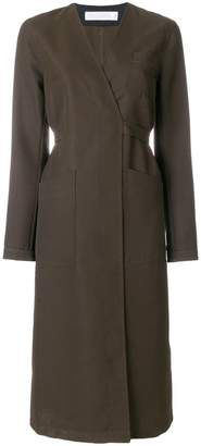 Victoria Beckham belted coat