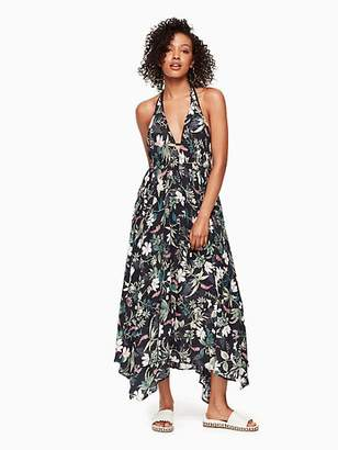 Kate Spade Playa carmen maxi dress cover up