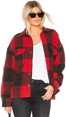 Anine Bing Bobbi Flannel Jacket