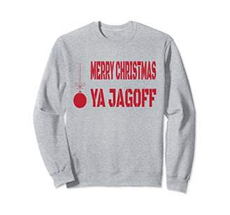 Merry Christmas Ya Jagoff Pittsburgh Yinzer Sweatshirt
