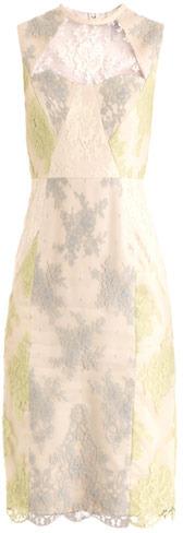 Erdem Brynn petit-fleur lace dress