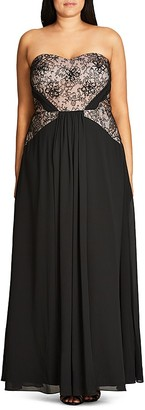 City Chic Sofia Maxi Dress $169 thestylecure.com