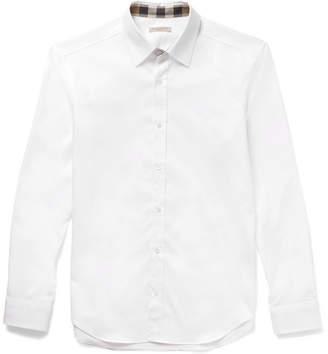 Burberry Slim-Fit Cotton-Poplin Shirt