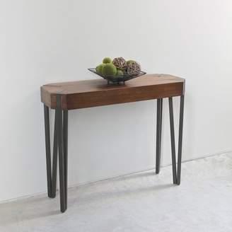 International Caravan Hamburg Contemporary Contemporary MDF/Metal Console Table