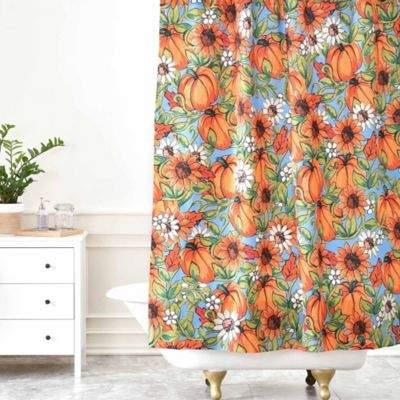 Aimee St. Hill Pumpkin Harvest Shower Curtain