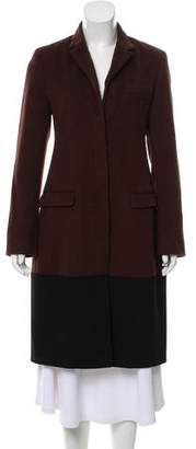 Reed Krakoff Wool-Blend Knee-Length Coat w/ Tags