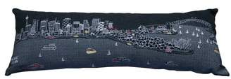 BEYOND CUSHIONS Sydney Embroidered Skyline Pillow